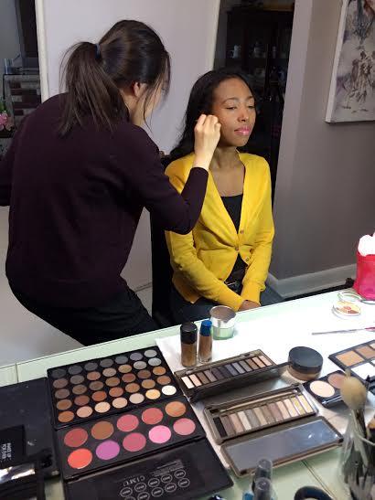 Sharma MacDonald makeup photo A