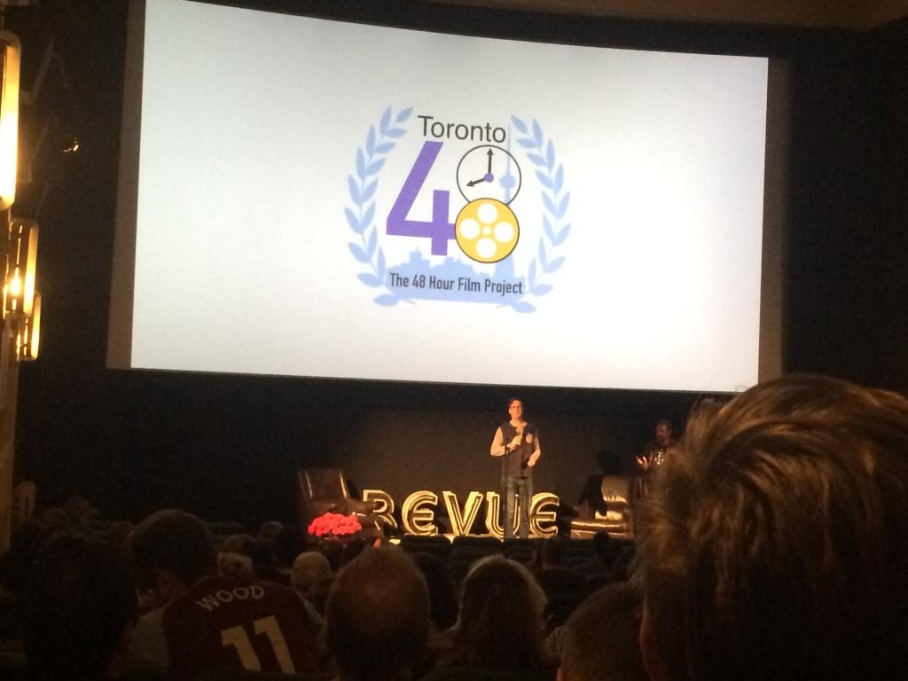 Sharma MacDonald and Toronto 48h film project screening.