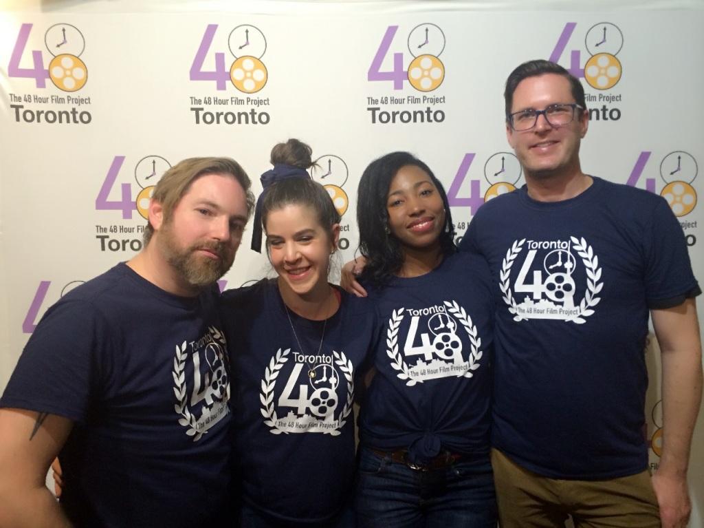 Sharma MacDonald and Toronto 48h team