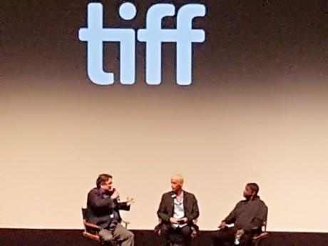 TIFF Q&A for Denzel Washington's movie Roman J. Israel, Esq movie.