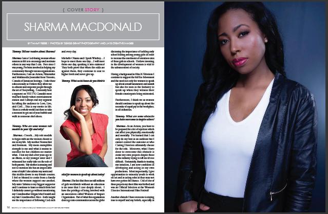 Sharma MacDonald Central New York Woman Magazine feature 1