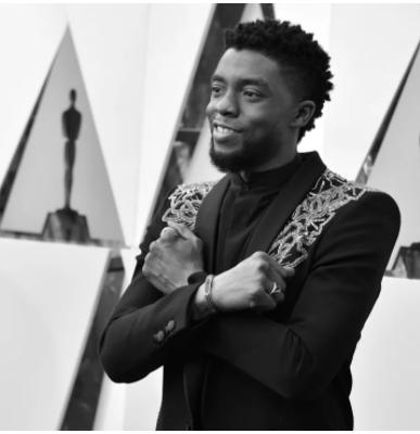 Chadwick Boseman Wakanda Pose
