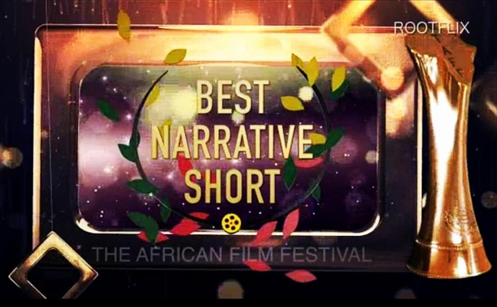 """2020"" WINNER - BEST NARRATIVE SHORT FILM AT THE AFRICAN FILM FESTIVAL - Sharma MacDonald Blog"